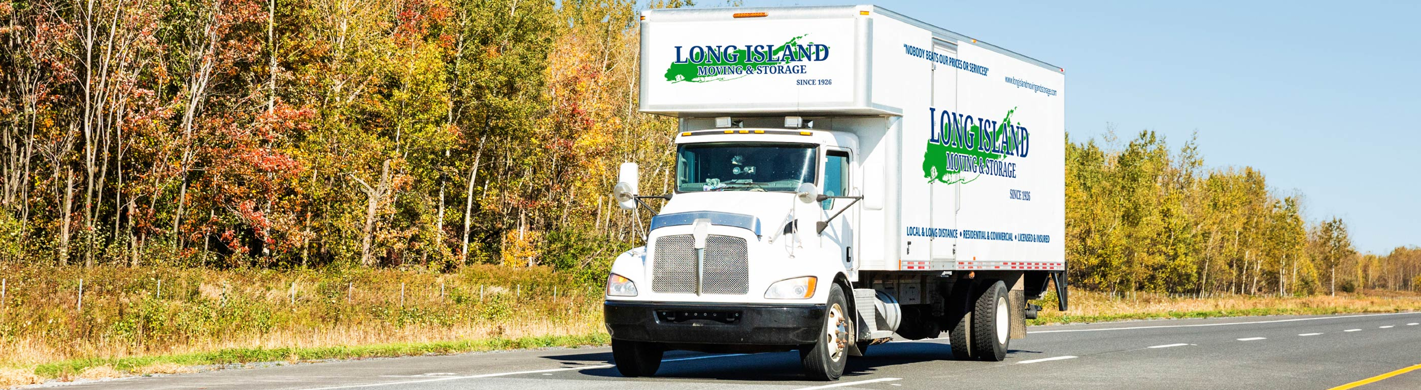 Long Island Moving Van