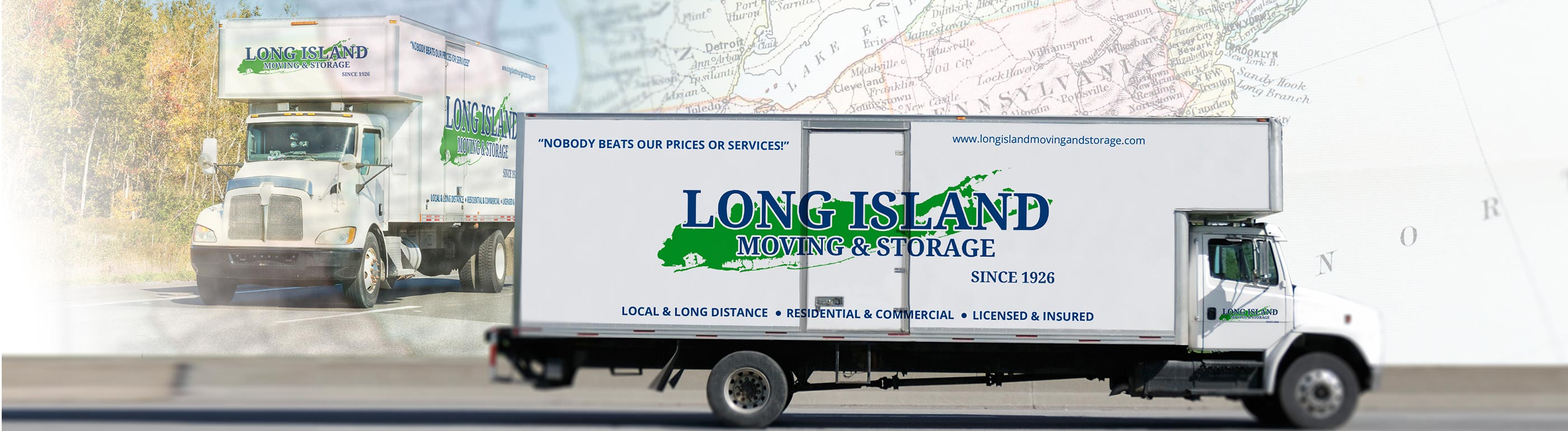 Long Island Moving & Storage Moving Truck